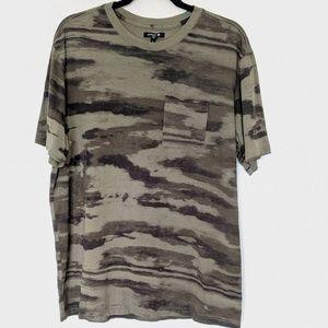 Stance Camo T-Shirt Pocket XL